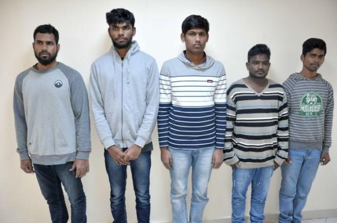 В Азербайджане задержаны 5 граждан Шри-Ланки