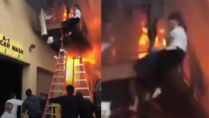 ABD'deki Türk restoranında çıkan yangında can pazarı
