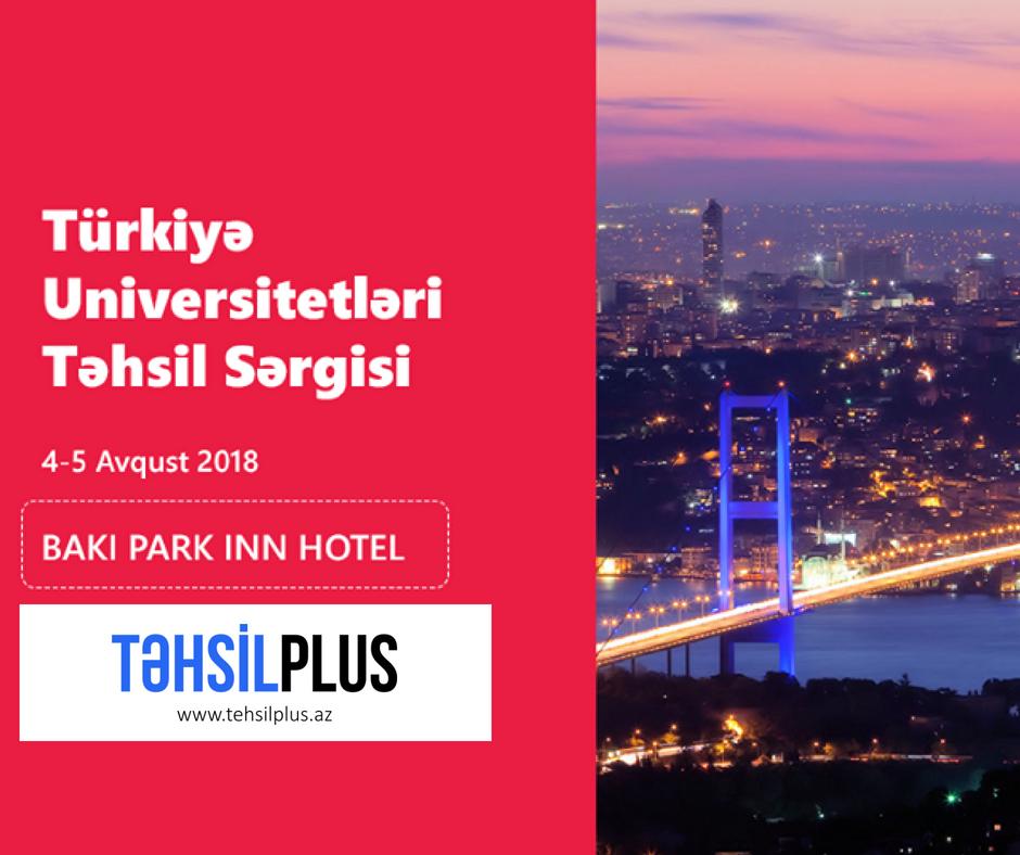 Türkiye universiteleri Azerbaycanda Baku fuarında öğrenci adayları ile buluşuyor.
