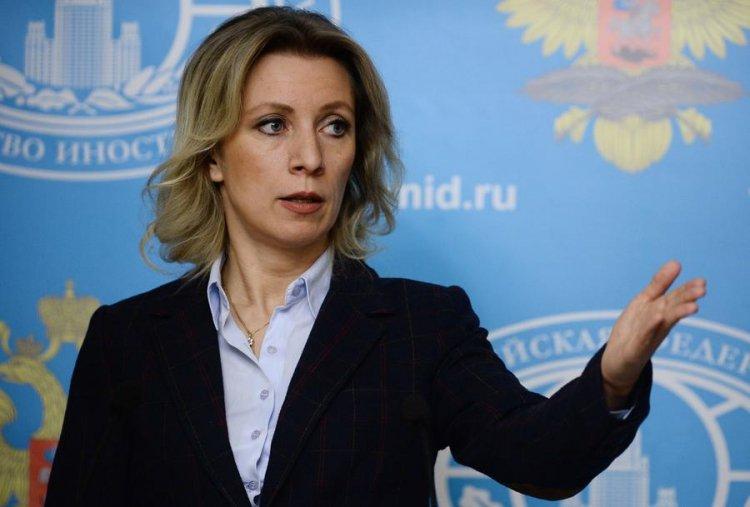 """Zaxarova: """"ABŞ-ın sanksiyalarına Rusiyanın cavabı qaçılmazdır"""""""