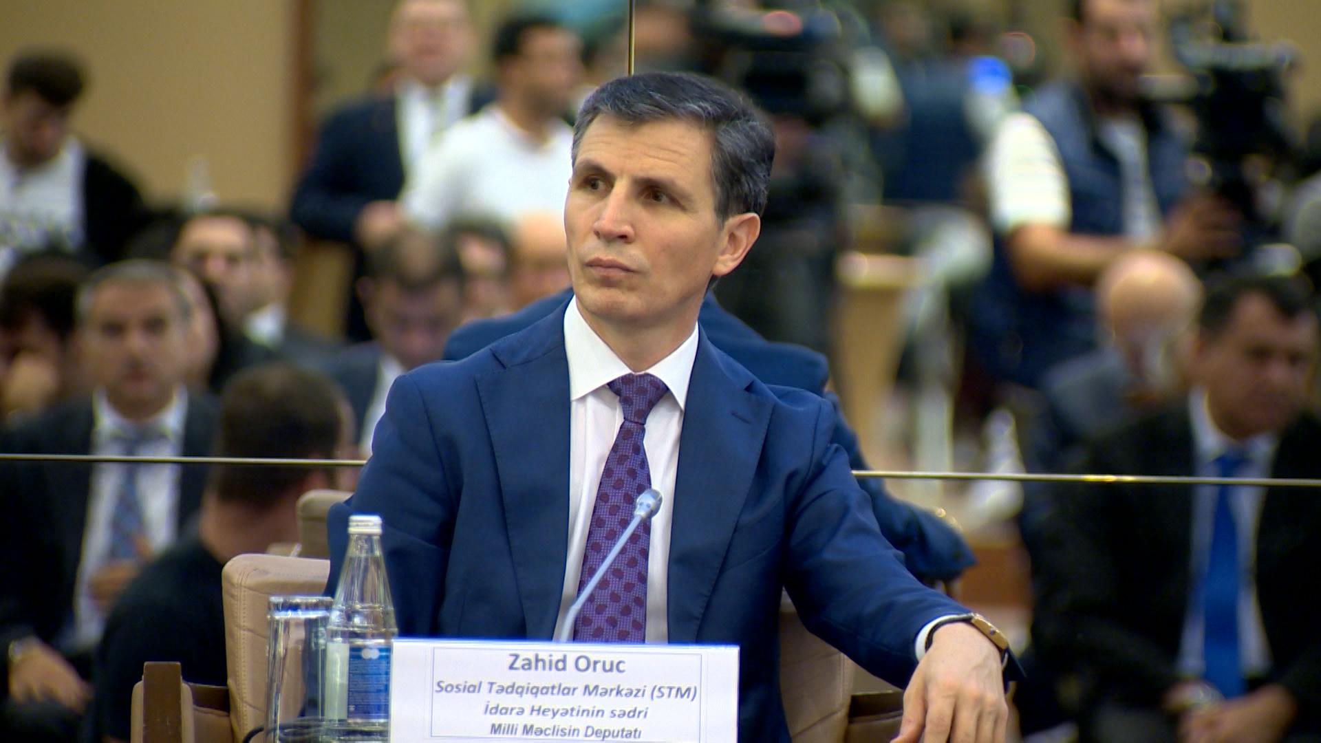 """Zahid Oruj, the MP of Azerbaijan called on action…"""