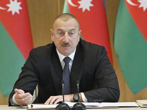 """Azərbaycan Prezidenti: """"Biz düşməni Şuşadan qovanda su xəttini sıradan çıxarıb, indi Şuşada su yoxdur"""""""