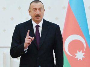 """İlham Əliyev: """"Azad edilmiş bu ərazilərə Azərbaycan bayrağı sancıldı"""""""