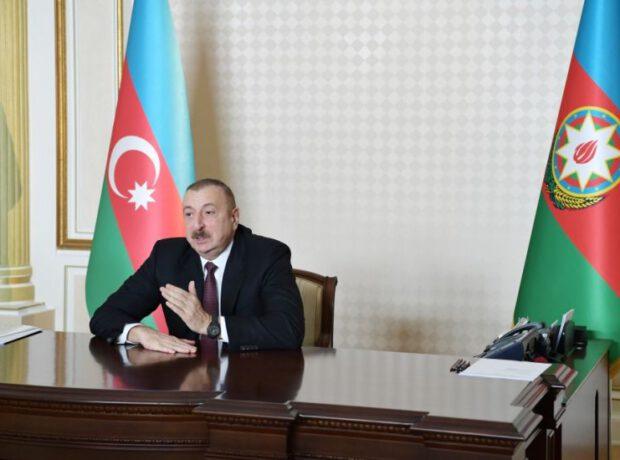 """Azərbaycan Prezidenti: """"Karantin rejimi hamımızı yorur"""""""