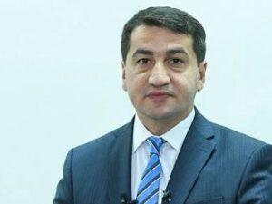 """Prezidentin köməkçisi: """"Yalnız Ermənistan qoşunlarını ərazilərimizdən çıxardıqdan sonra sülhdən danışa bilərik"""""""