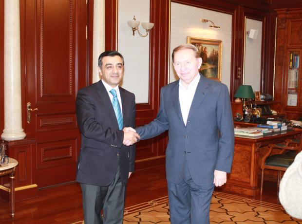 Экс-президент Украины Леонид Кучма: «Гейдар Алиев был гениальным человеком, мудрой личностью»