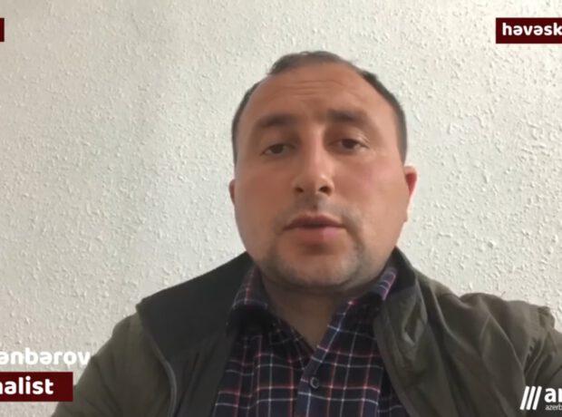 Anews.az müxbiri DSMF Gədəbəy idarəsinin rəhbəri tərəfindən döyülüb – VİDEO/FOTOLAR