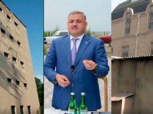 İcra başçısı liseyin pəncərələrini hördürdü: Villasının həyəti göründüyü üçün – VİDEO