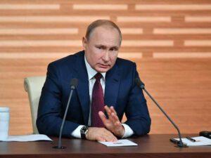 """Vladimir Putin: """"Rusiya Qarabağdakı humanitar fəaliyyətə MDB ölkələrinin qoşulmasında maraqlıdır"""""""