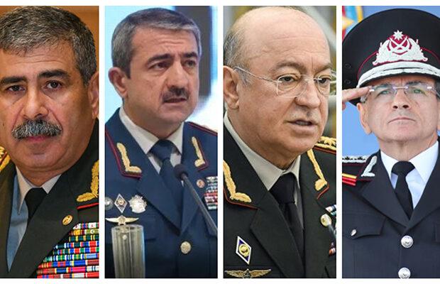 Azərbaycanda General polkovniklərin SİYAHISI