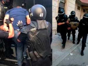 Yatan arvad-uşaq və polis əməliyyatı…