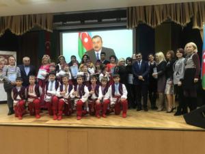 """Председатель международного альянса """"Азербайджан-Украина"""" поздравил детей"""
