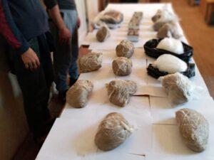 Azərbaycana 25 kiloqrama yaxın narkotik vasitə keçirən zaman SAXLANILDILAR