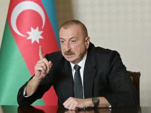 """Azərbaycan Prezidenti: """"İkinci dəfə atəşkəs yalnız iki dəqiqə davam etdi və Ermənistan onu pozdu"""""""