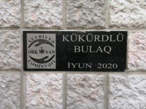"""Ərkivanda təmir edilən """"Kükürdlü Bulaq"""" istifadəyə verildi – VİDEO/FOTO"""