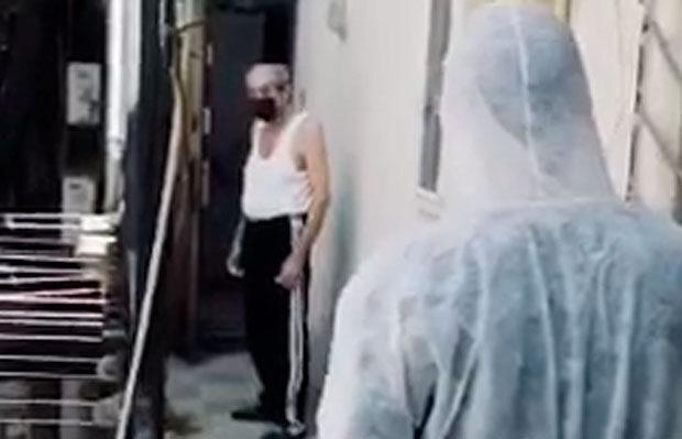 Daha bir koronavirus xəstəsi mağazada saxlanıldı – VIDEO