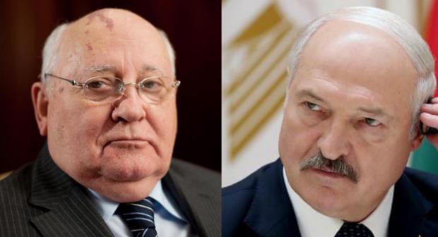Qorbaçov Lukaşenkoya məsləhət verdi