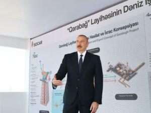 """Dövlət başçısı: """"Azərbaycanda bütün neft-qaz layihələri uğurla icra edilir"""""""