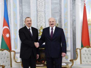 Prezident İlham Əliyev Aleksandr Lukaşenkonu təbrik etdi