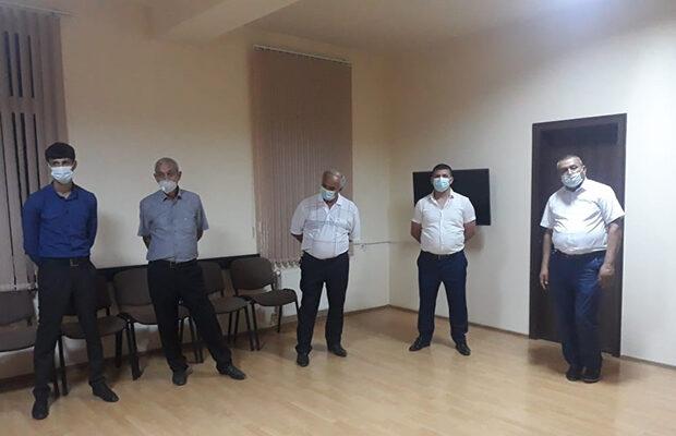 Gəncədə evdə nişan edənlər saxlanıldı – Fotolar