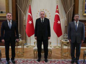 SON DƏQIQƏ: Zakir Həsənovla Ərdoğanın görüşü başladı