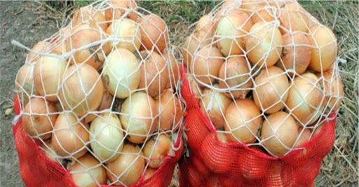 Masazırda alverçilər etiraz olaraq satışa çıxardıqları soğanı yandırdılar – VİDEO