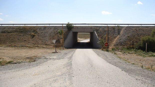 """Sürücülərin kabusuna çevrilən """"ölüm"""" tuneli – VİDEO"""