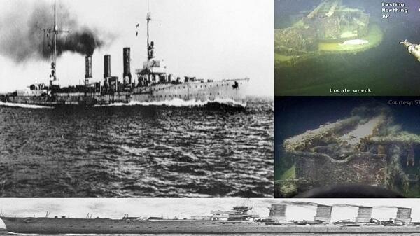 İngilislərin vurduğu gəmi 80 ildən sonra tapıldı – FOTO