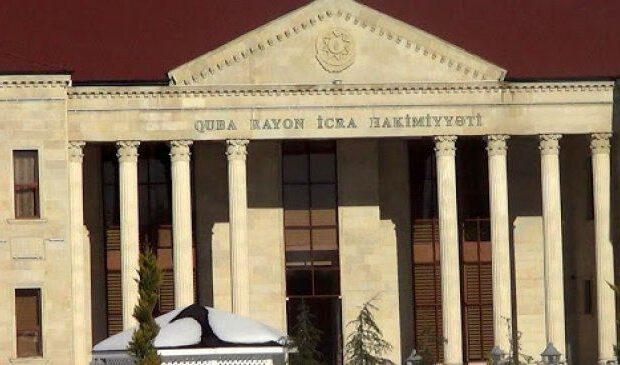 Quba Rayon İcra Hakimiyyətinin vəzifəli şəxsinə cinayət işi açıldı