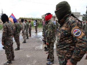 Suriyadan erməni batalyonu da Qarabağa göndərildi – FOTO