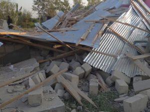 Erməni ordusu yaşayış məntəqələrini hədəfə aldı, yaralılar var – FOTOLAR