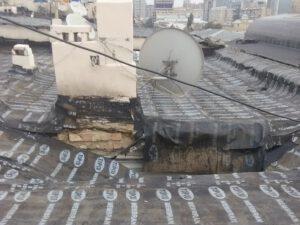Bakının mərkəzində bina uçub – Sakinlərin harayına yetişən yoxdu – FOTO
