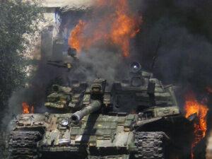 Ermənilərin daha 2 tankı MƏHV EDİLDİ