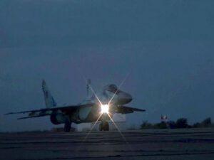 Hərbi Hava Qüvvələri gecə təlimləri keçirdi – VİDEO