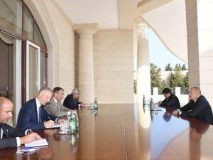 İlham Əliyev Avropa İttifaqının Cənubi Qafqaz üzrə xüsusi nümayəndəsini qəbul etdi