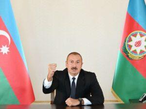 """Prezident: """"Zəngilan şəhəri və rayonun 6 kəndi işğaldan azad edilib"""""""