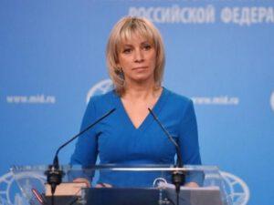 Rusiya XİN-dən ikibaşlı BƏYANAT – Zaxarova Sergey Lavrovun Qarabağ açıqlamasını TƏKZİB ETDİ