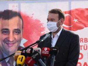 Türkiyədə şəhid generalımız Polad Həşimovun adı verilən parkın açılışı oldu – FOTOLAR