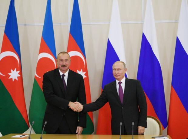 Prezident İlham Əliyev ilə Vladimir Putin arasında telefon danışığı olub