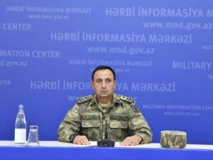 """MN rəsmisi: """"Erməni hərbçilərin təslim olması məsləhətdir"""""""