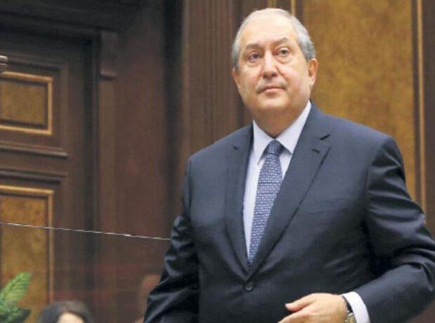 Ermənistan prezidenti Brüsselə gedib