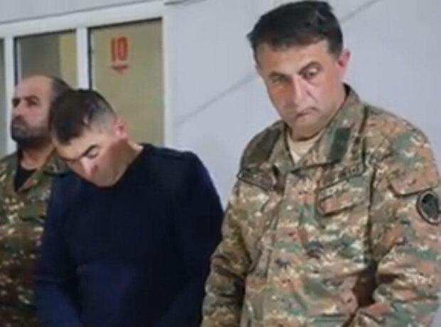 Başıaşağı erməni zabitləri – Bunkerdə keçirilən iclas – FOTO