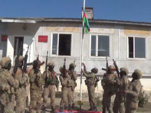 Azərbaycan bayrağı işğaldan azad edilmiş Füzuli şəhərində dalğalanır – VİDEO