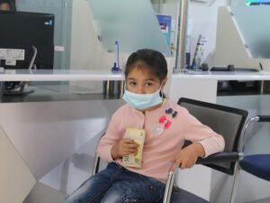 Yardım pulunu əsgərə göndərən altı yaşlı Aynur