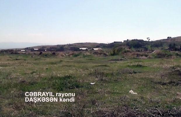 Cəbrayılın işğaldan azad olunan Daşkəsən kəndinin görüntüsü – VİDEO