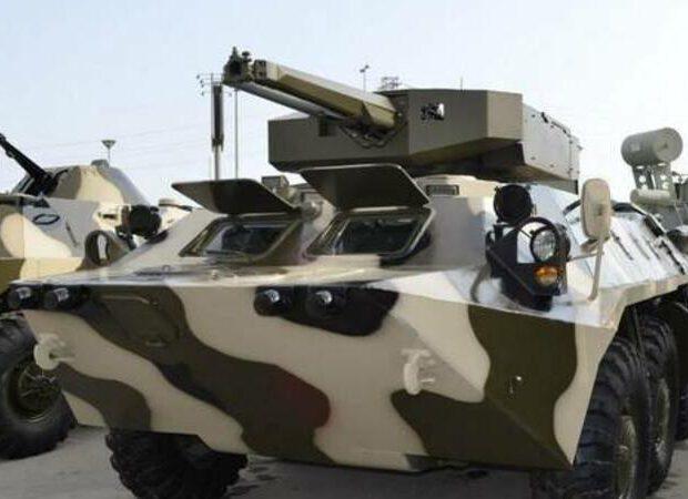 Nazirlik DSX-nə yeni BTR hədiyyə etdi