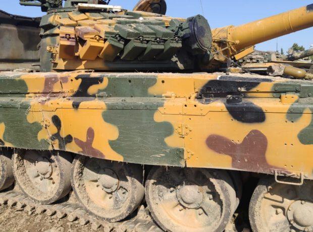 Azərbaycan Ordusu düşmənin daha bir neçə hərbi texnikasını ələ keçirdi – FOTO