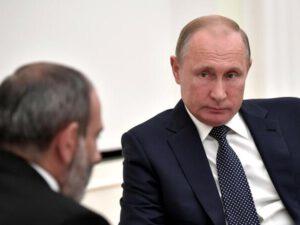 Paşinyan bir saatda iki dəfə Putinə zəng etdi