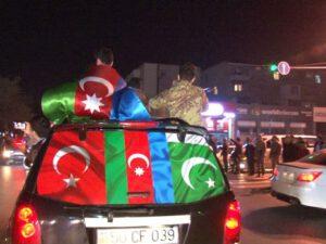 Qubadlı şəhərinin işğaldan azad olunması Sumqayıt şəhərində sevinclə qarşılandı – VİDEO