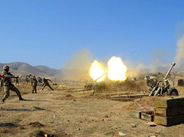 Azərbaycan Ordusu ermənilərin atəş nöqtələrini belə vurdu – VİDEO